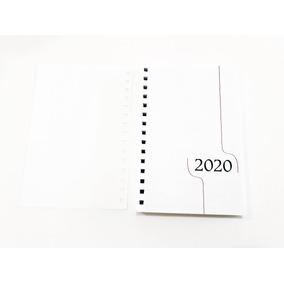 f1c4abde37ed1 50 Miolos De Agenda 2020 Refil Diária Bloco Furado P  Wire-o