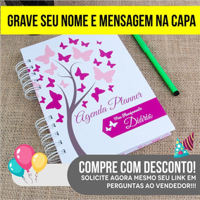 412f00fcc1001 Agenda Da Larissa Manoela - Materiais Escolares no Mercado Livre Brasil