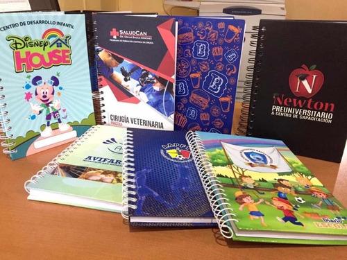 agendas corporativas personalizado cuaderno espiral 3.75x100