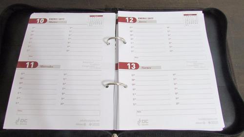 agendas de cuerina regalo empresarial x22 unidades