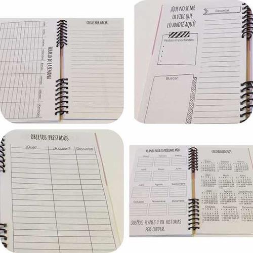 agendas personalizadas. agendas 2020. precio por 2 unidades