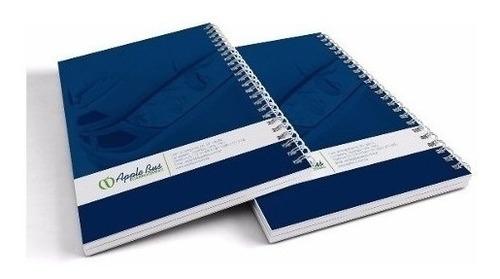 agendas personalizadas cuaderno corporativo espiral 3.75x100