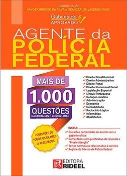 agente da policia federal - 1000 questões comentadas- 2014