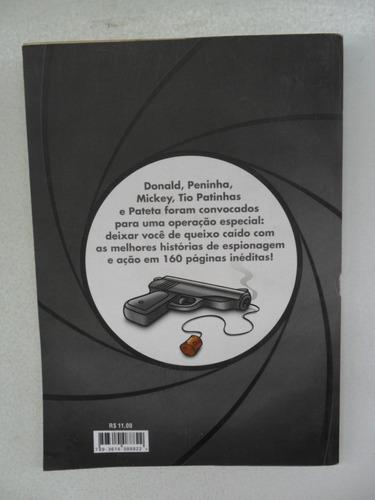 agente secreto! pato donald! ed. abril 2012!