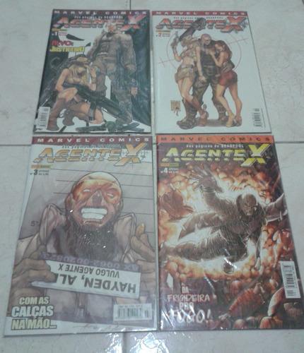 agente x - edições 1 a 4