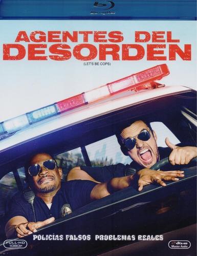 agentes del desorden let ' s be cops pelicula blu-ray