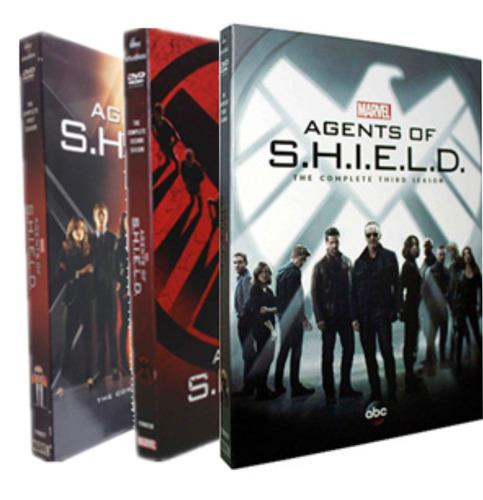 agents of shield temporadas 1,2 y 3 completa en dvd!