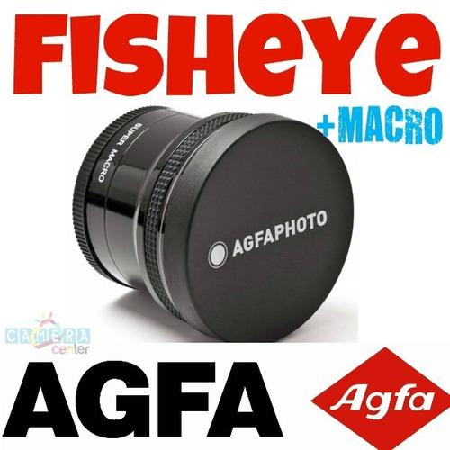 agfa lente fisheye 180 graus hd olho de peixe - melhor mundo
