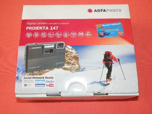 agfa projekta 147 camara digital + proyector video beam 14mp