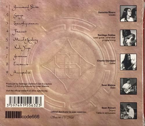 aghora - aghora - cd importado digipack lacrado
