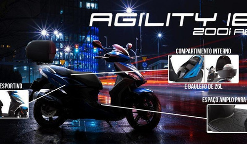 agility 16 200i abs