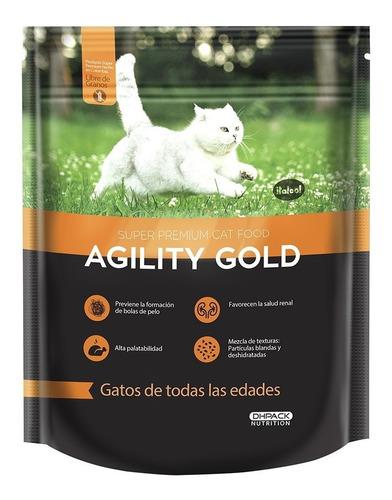 agility gold para gato adulto 7 kg