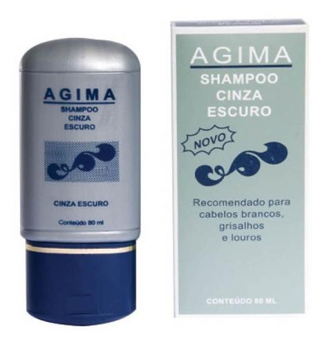 agima shampoo cinza escuro 80ml