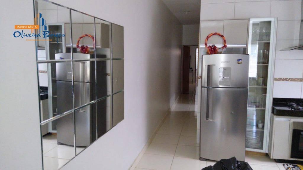 ágio de casa com 2 dormitórios à venda, 125 m² por r$ 75.000 - residencial flor do cerrado - anápolis/go - ca1466
