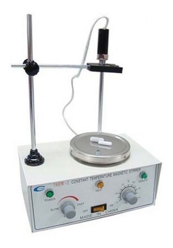 agitador magnético de laboratorio arcano calefacción y sonda