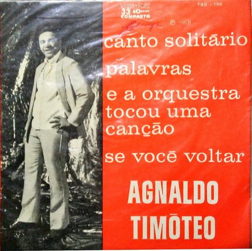 agnaldo timoteo compacto 1968 canto solitário capa sanduiche