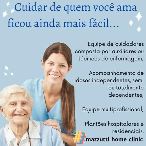 agência de cuidadores de idosos - mazzutti home clinic