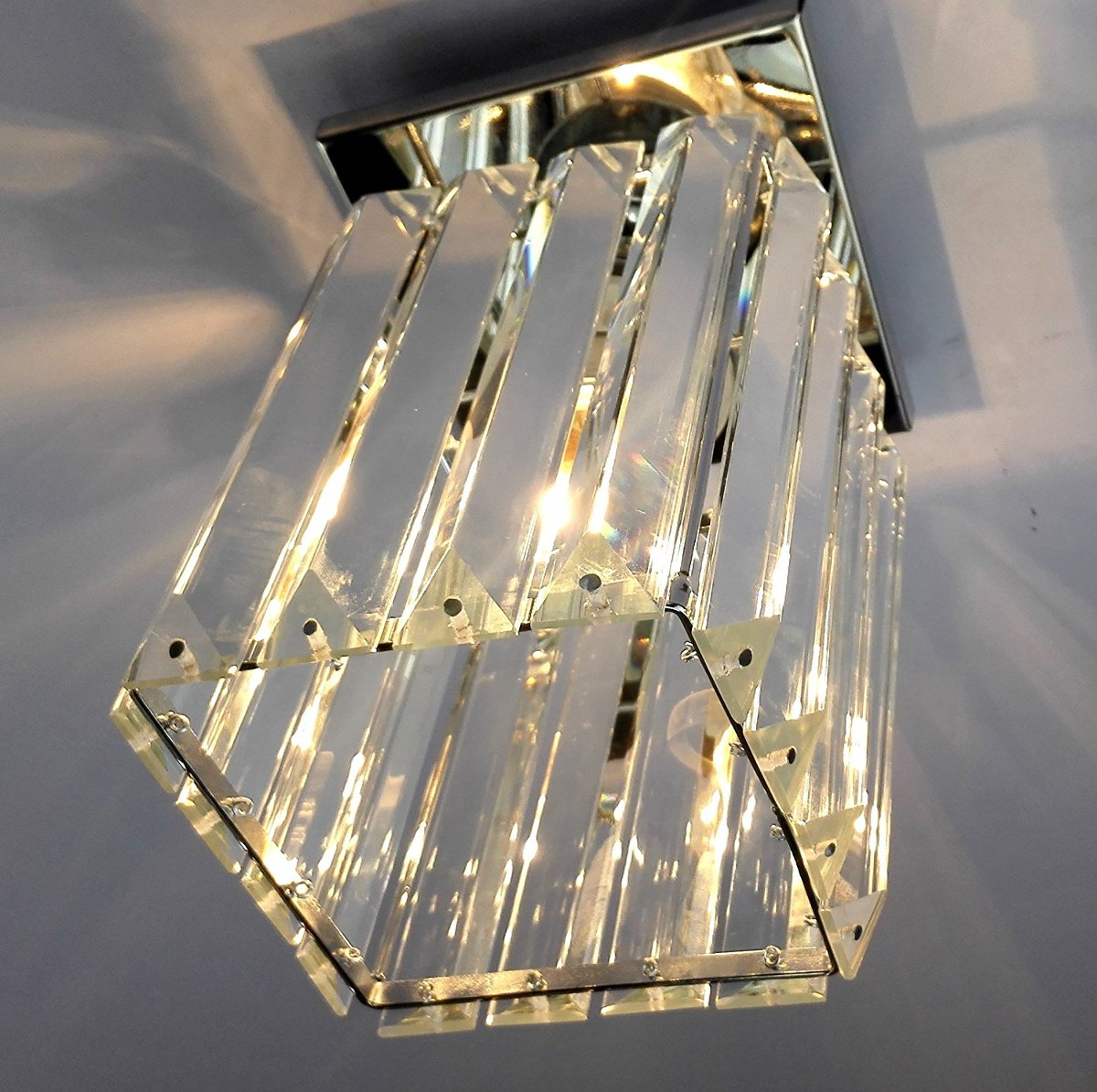 Agnes lighting crystal ceiling lamp chandelier 1 light w5 cargando zoom aloadofball Image collections