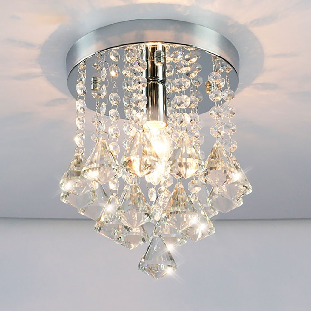 Agnes lighting crystal shade ceiling lamp chandeliers h94 cargando zoom aloadofball Image collections