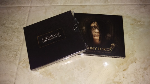 agony lords - a tomb for the haunted ltd. cd+dvd | sentenced