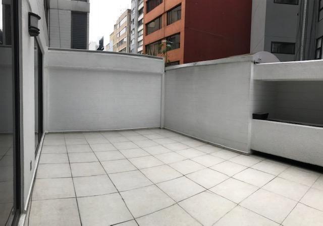 agradable departamento remodelado con terrazas cerca parque