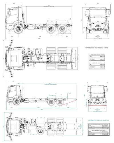 agrale 14000 6x2 canovas automotores