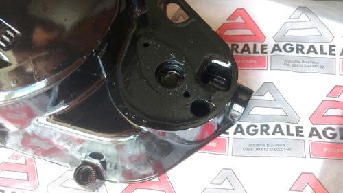 agrale 16.5 27.5 30.0 - tampa do motor nova original l/d 2t7