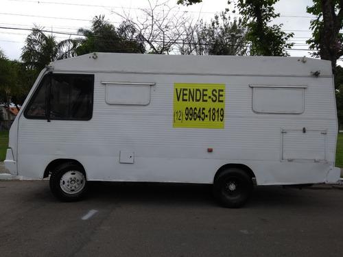 agrale motor home food truck caminhão/furgão ano 1989