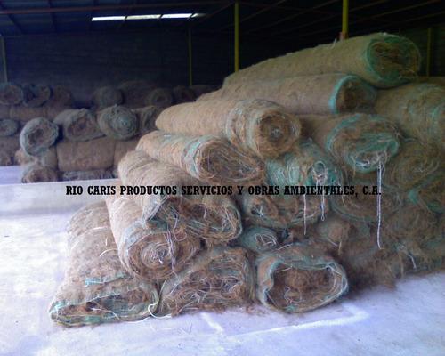 agromanto geomalla manto de fibra de coco