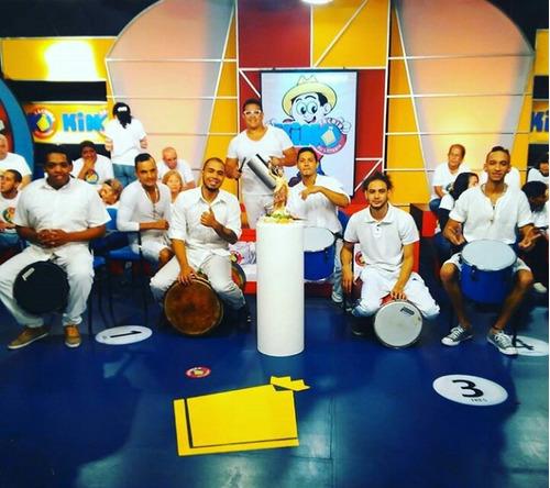 agrupación samba y  tambor show