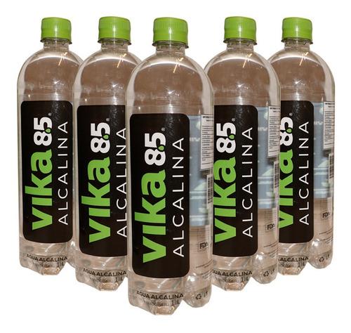 agua alcalina de 1 l, paquete de 6 pzs, cuida tu salud!!!