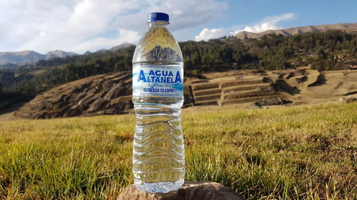 agua altanela purificada con osmosis inversa