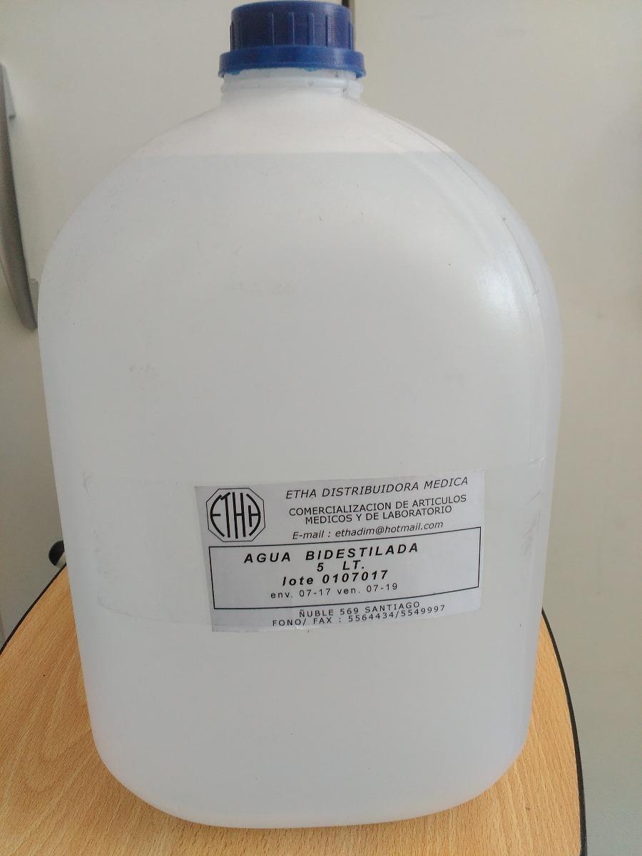Agua Bidestilada Bidon 5 Litros Deltamed 8990 En Mercado Libre