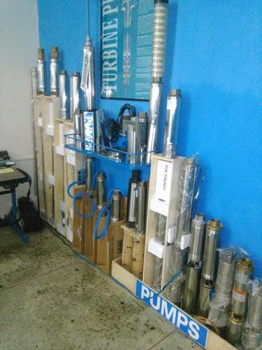 agua - bombas sumergibles y superficiales - pozos de agua -