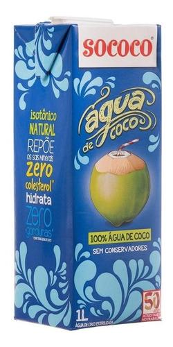 agua de coco - sococo