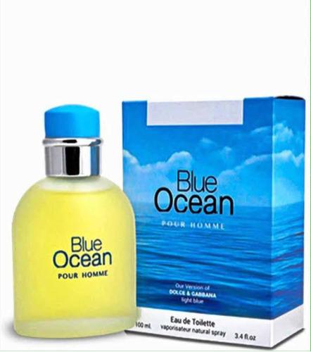 agua de colonia blue ocean  dolce gabbana