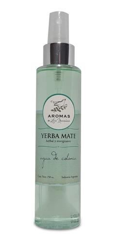 agua de colonia corporal aroma yerba mate