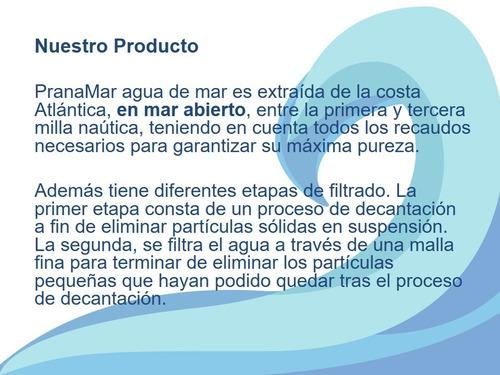 agua de mar (10 litros)
