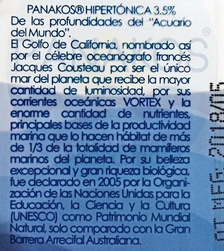 agua de mar orgánica hipertónica 20 litros envio gratis