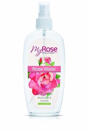 agua de rosas 100% natural rosa damascena de bulgaria 220ml