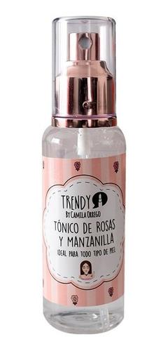 agua de rosas y manzanilla
