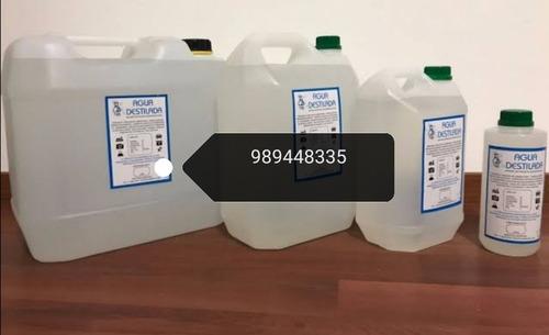agua desionizada, agua destilada, agua blanda, afines