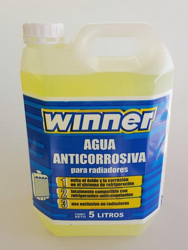agua destilada anticorrosiva para radiador