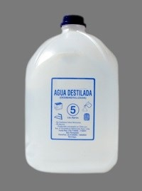 Agua Destilada Bidon De 5 Litros 1800 En Mercado Libre