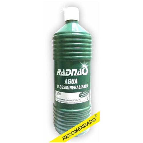 água  destilada para radiador - kit 4 uni