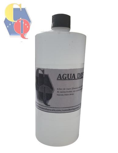 agua destilada servicio de llenado