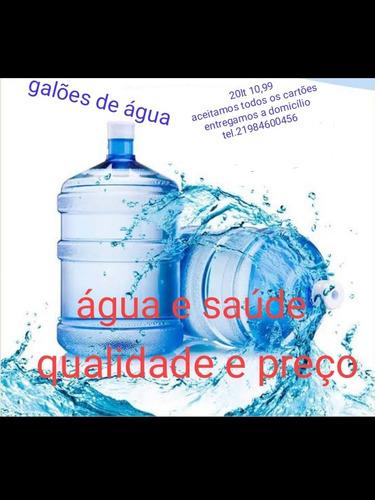 água é saúde entrega a domicílio