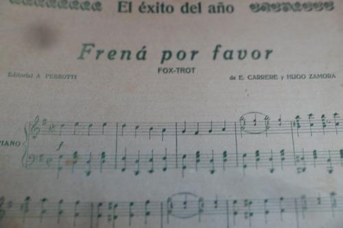 agua florida de silva valdez y collazo tango partitura