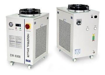 agua industrial chiller coll 50w co2 láser tubo compresión