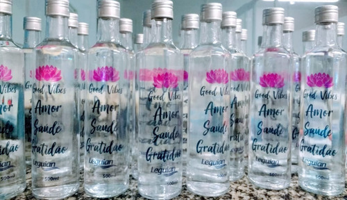 água leguian mais 500ml alcalina (ph8,50) garrafa de vidro